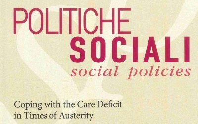 Le politiche di long term care. Italia e Europa a confronto