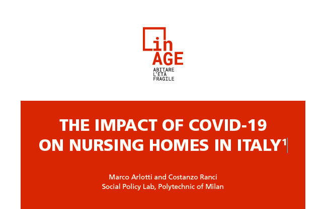 THE IMPACT OF COVID-19 ON NURSING HOMES IN ITALY