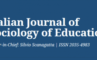 Special section on IJSE co-edited by Lara Maestripieri on Mastering youth transitions.